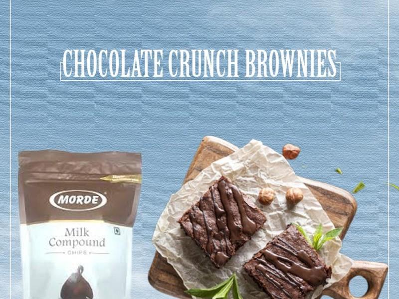 CHOCOLATE CRUNCH BROWNIES Image