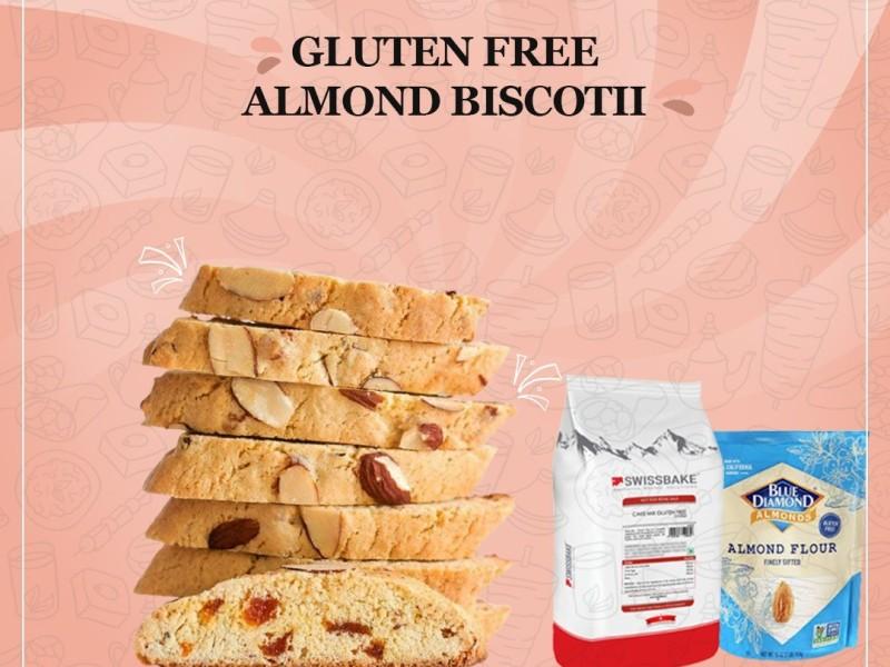 GLUTEN FREE ALMOND BISCOTII Image