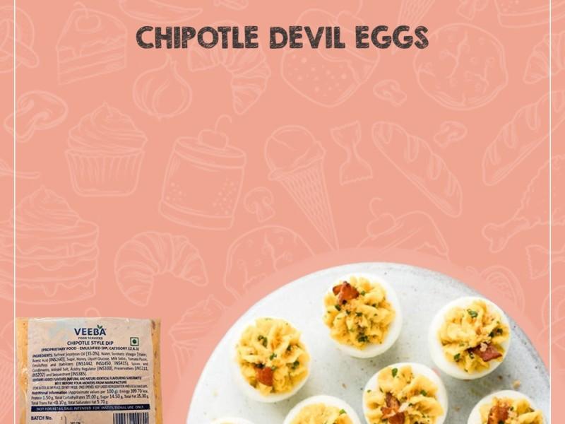 CHIPOTLE DEVIL EGGS Image