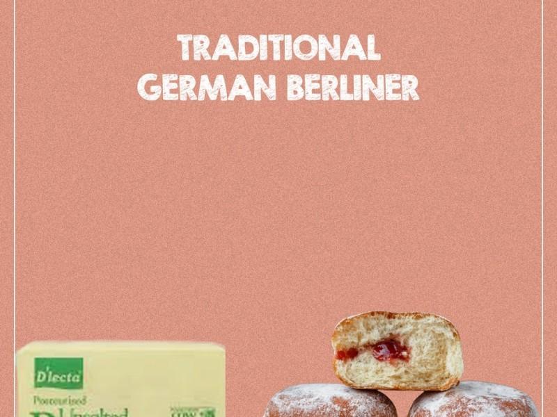 TRADITIONAL GERMAN BERLINER Image