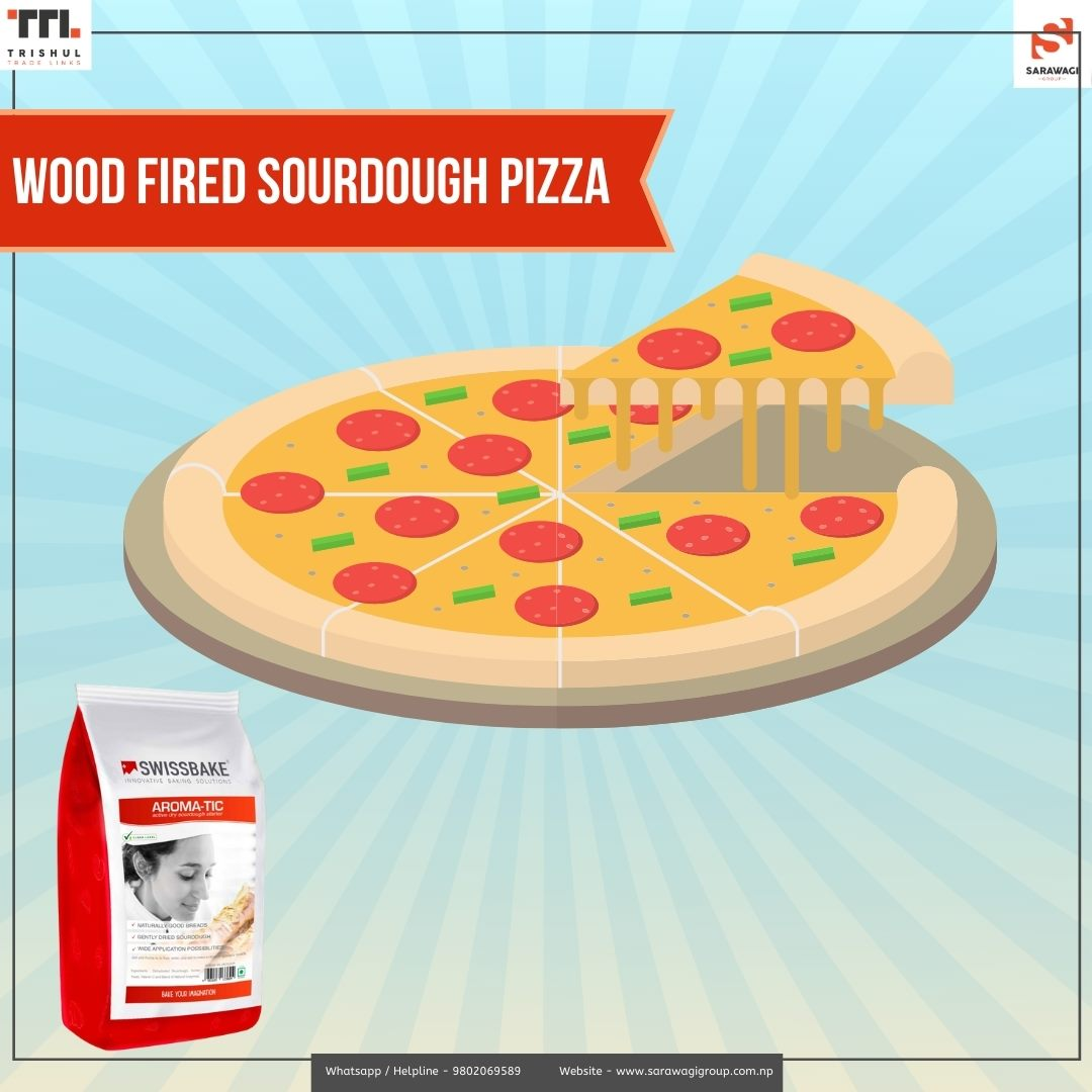 Wood Fired Sourdough Pizza Image
