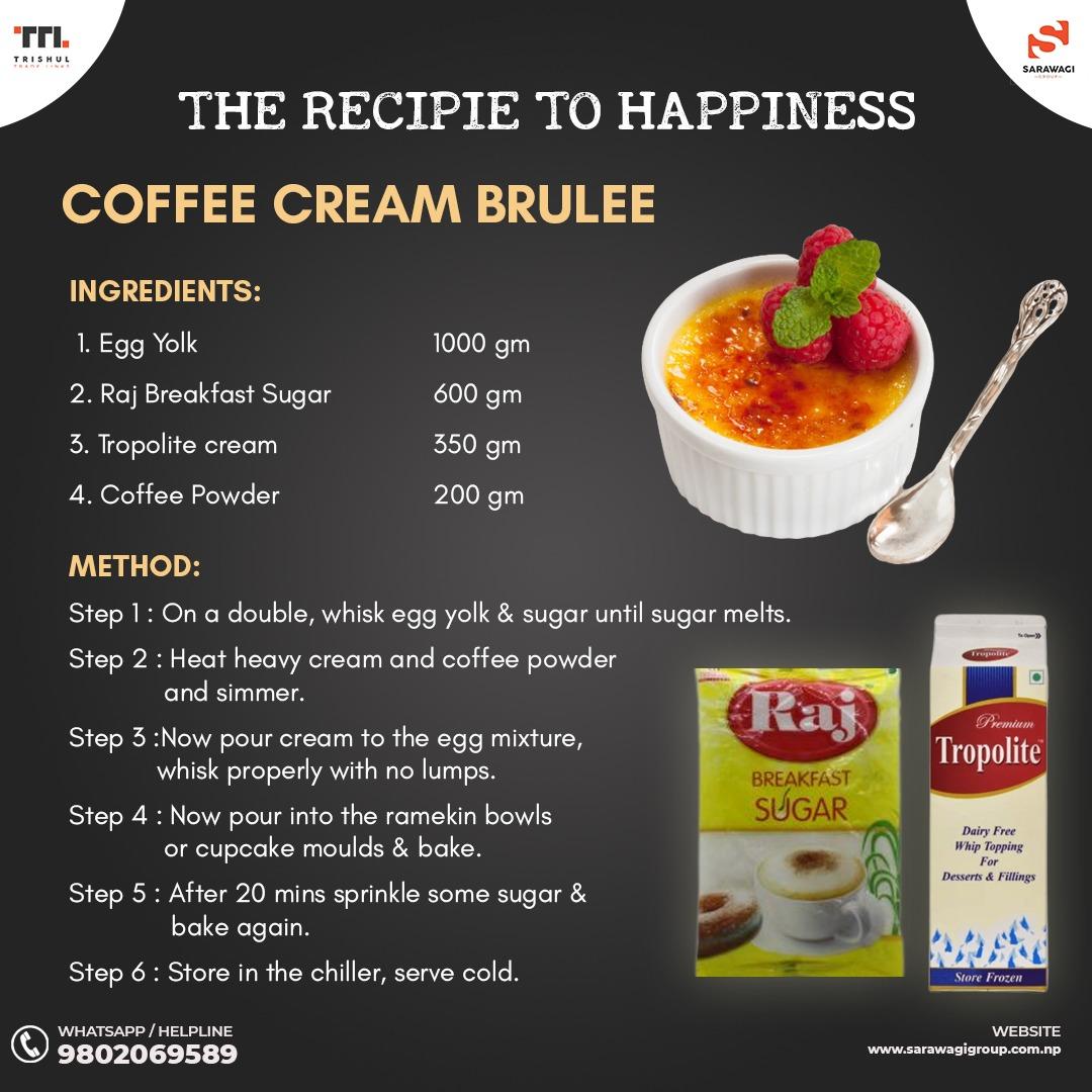 COFFEE CREAM BRULEE Image
