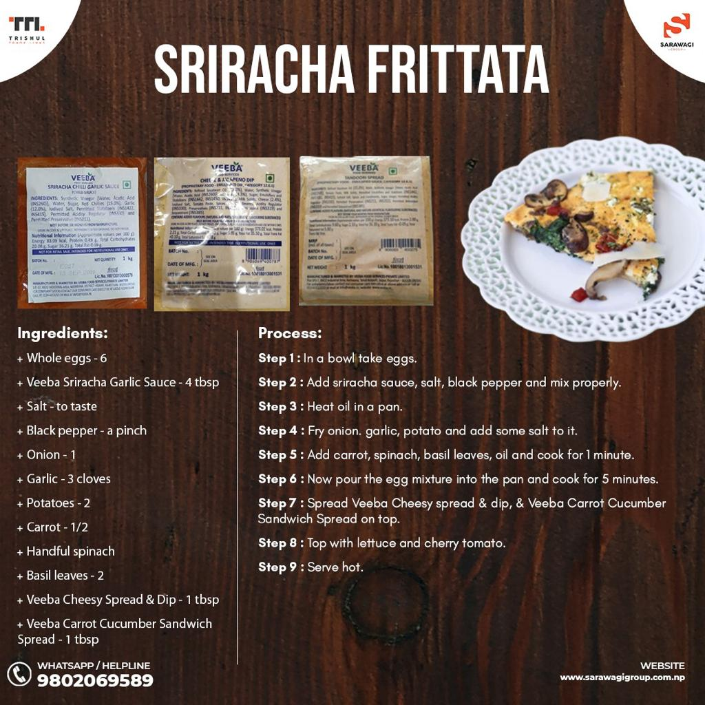 RIRACHA FRITTATA Image