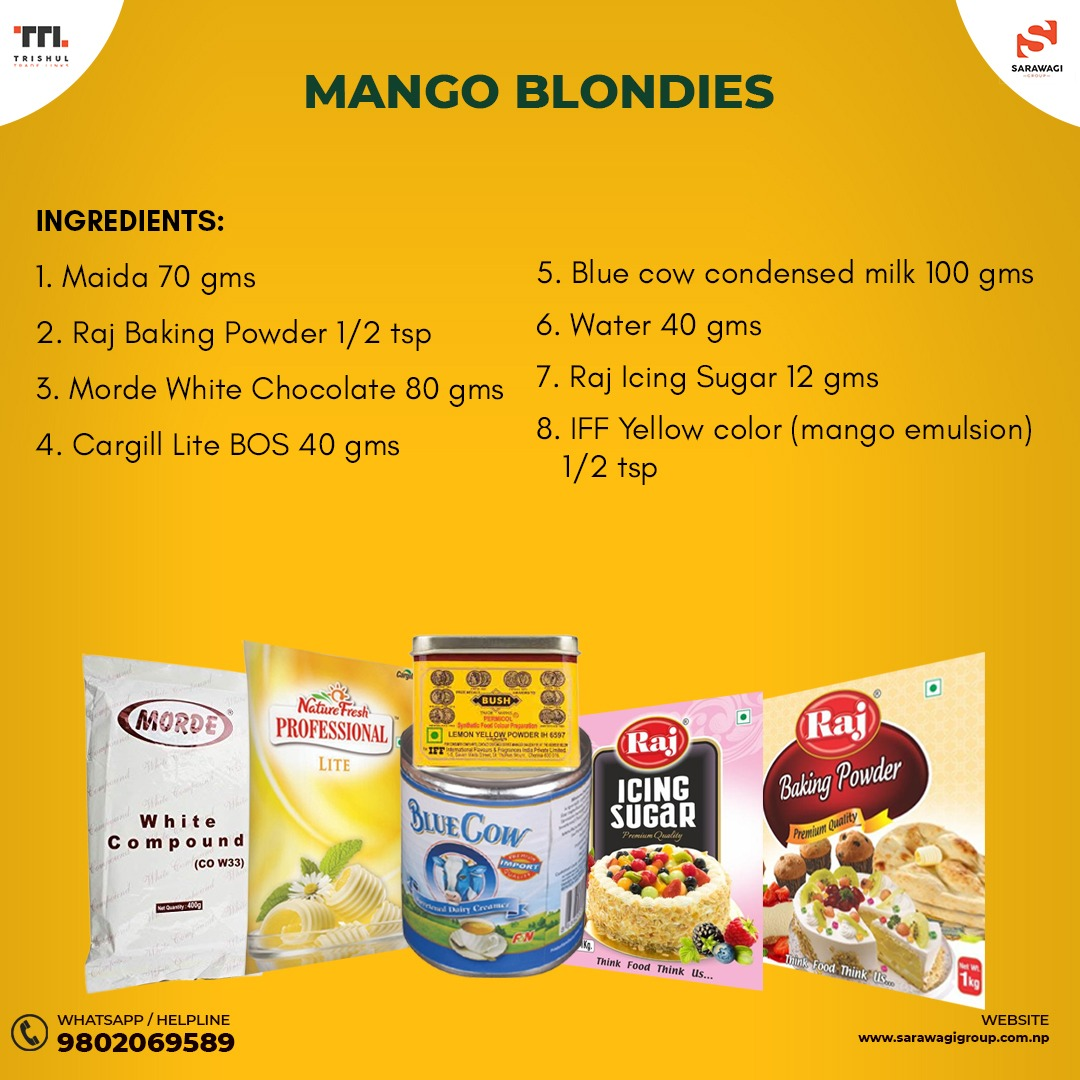 MANGO BLONDIES Image