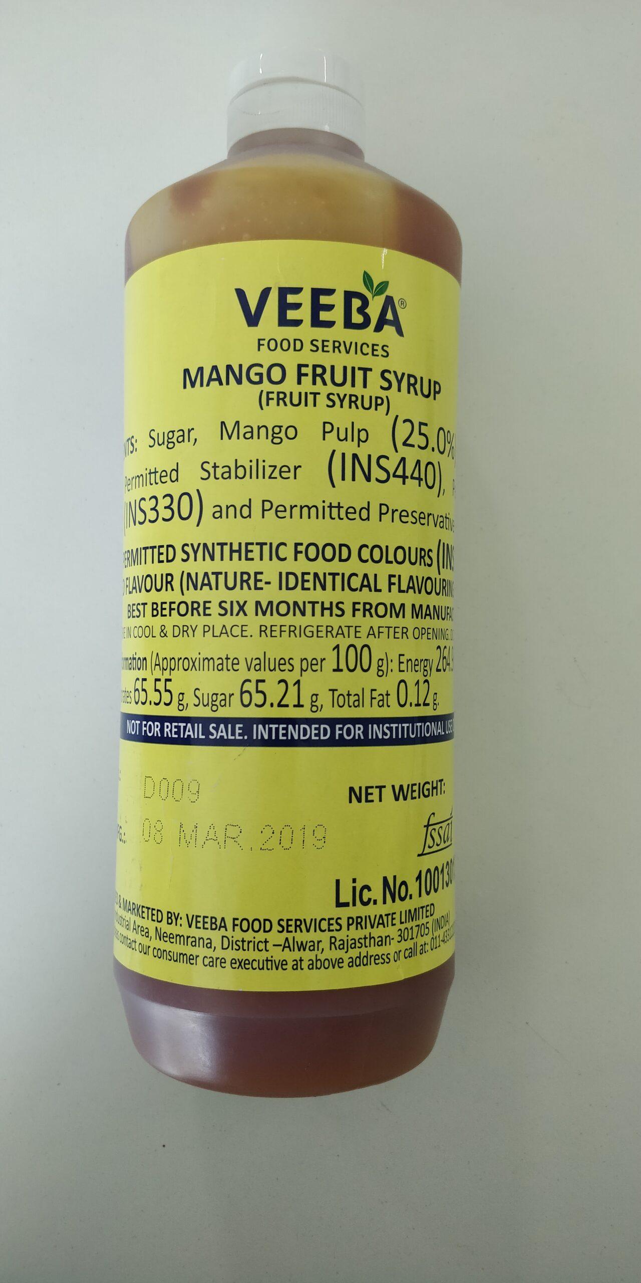Mango Fruit Syrup (1.4 Kg) Image