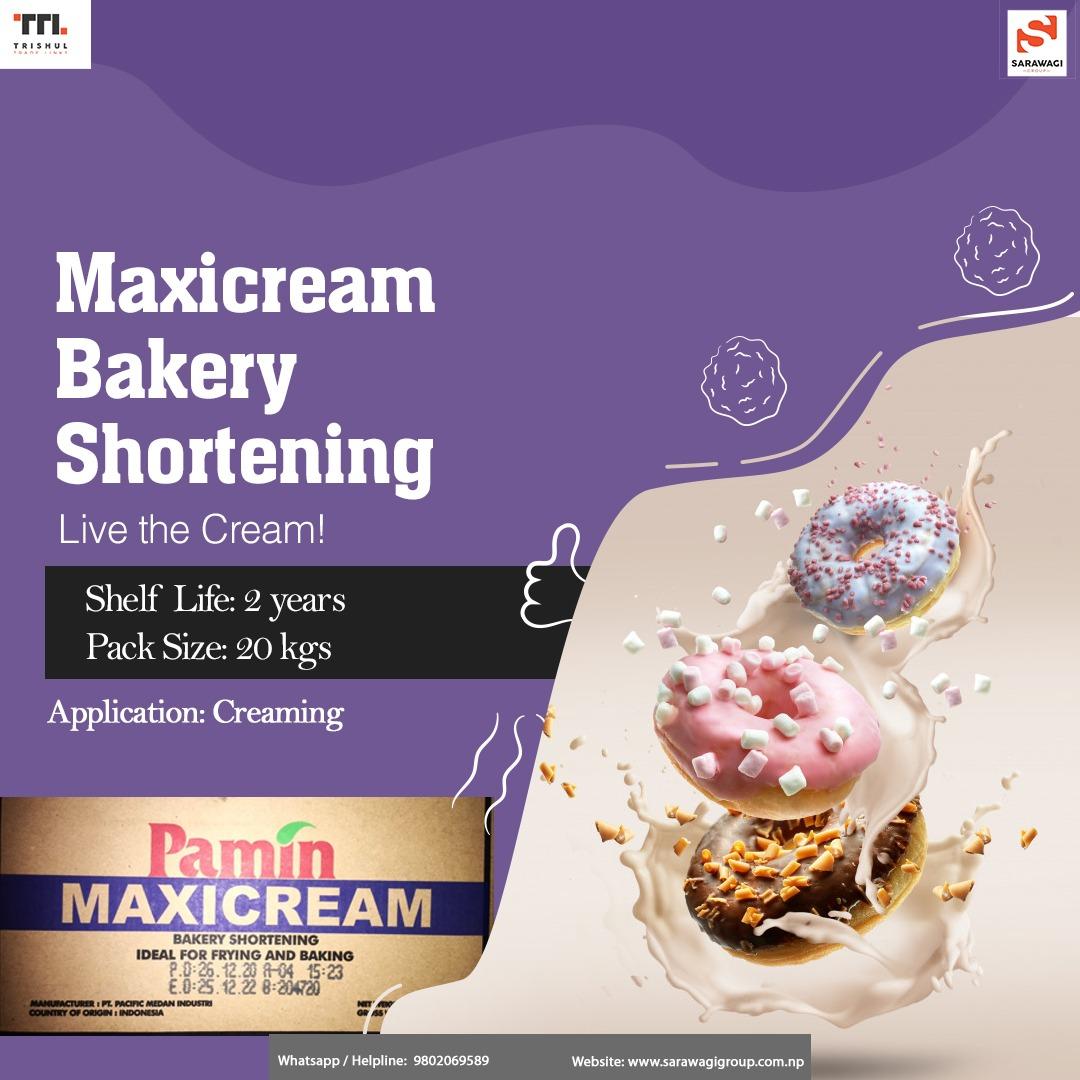 Maxicream Bakery Shortening Image