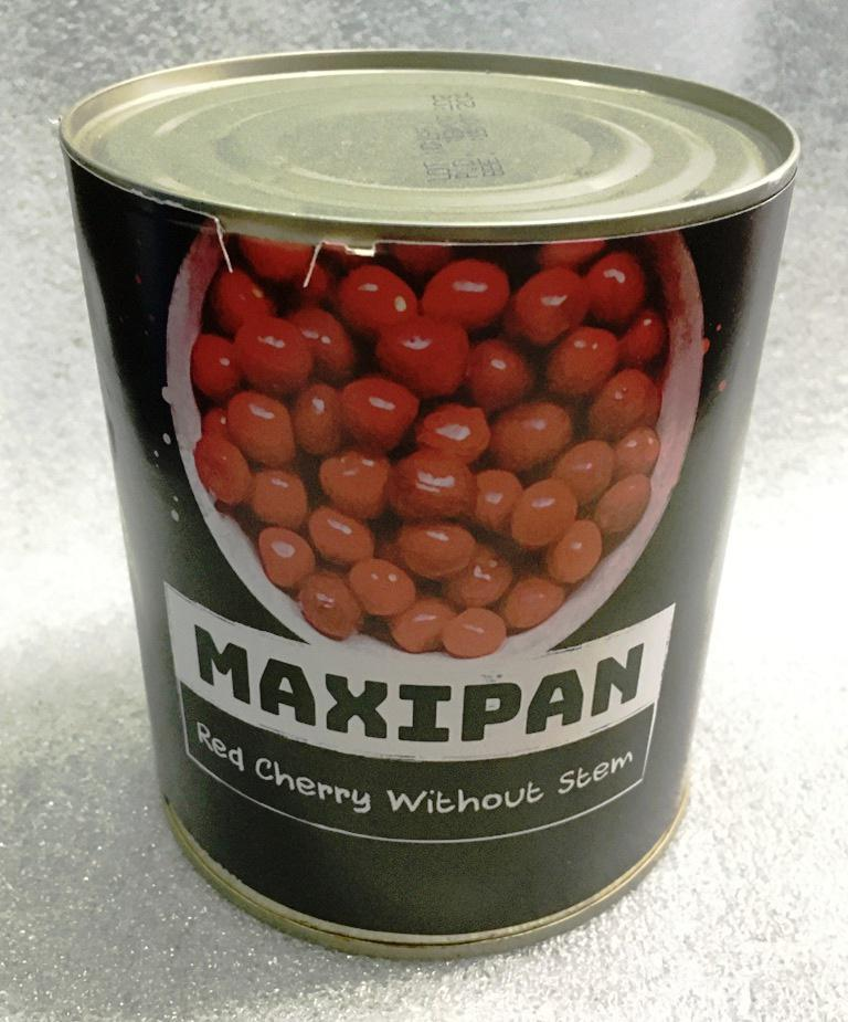 Maxipan Red Cherry Without Stem With Seed (Pit) – Premium Image