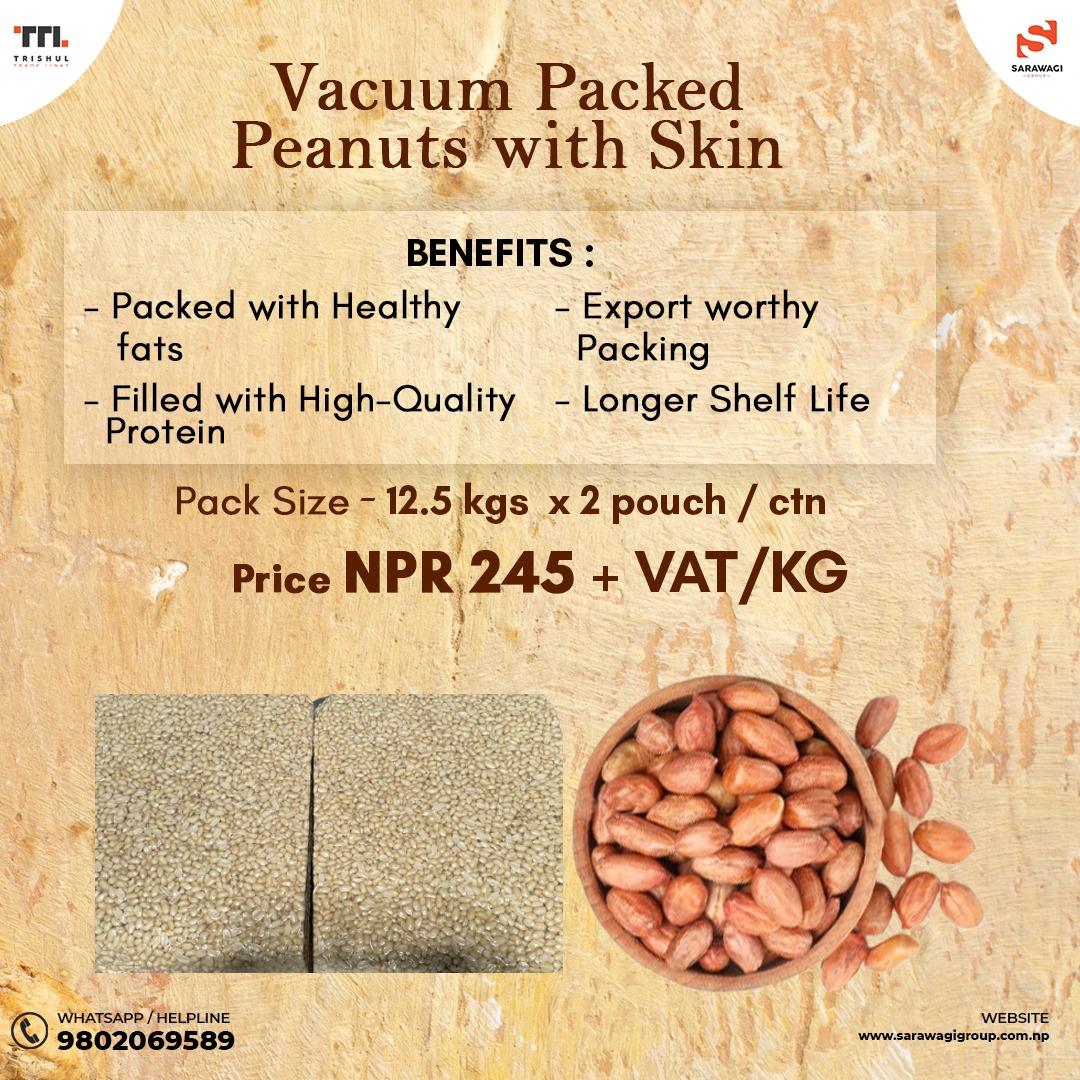 Maxipan Peanuts with Skin Image