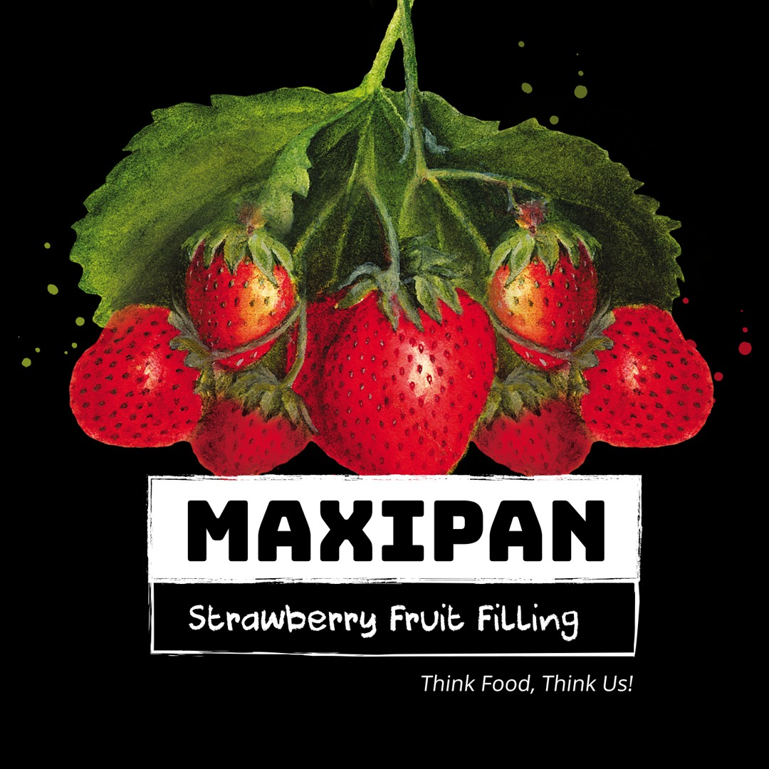 Maxipan Strawberry Fruit Filling Image