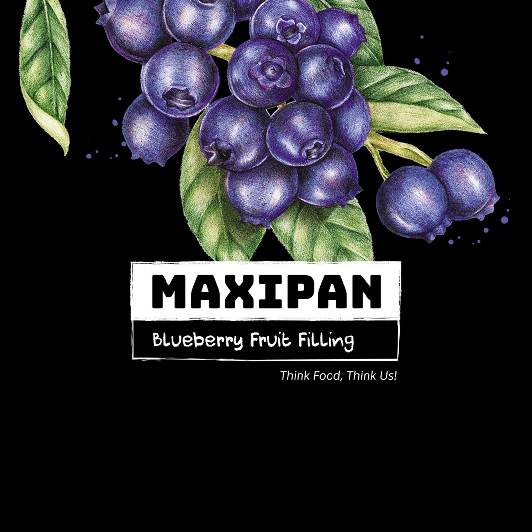 Maxipan Blue Berry Filling – 850 gms Image