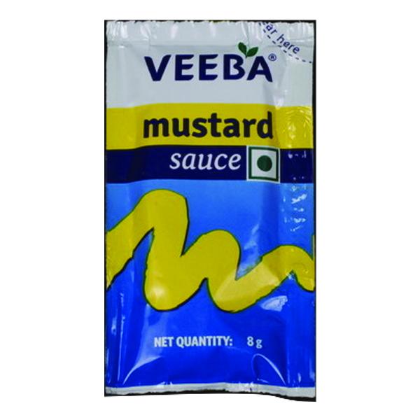 Mustard Sauce Sachet (8g) (100 x 12) Image
